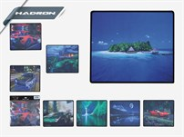 HADRON 5529 OYUN MOUSE PAD 250X280X3MM
